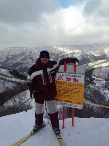 シニアスキーヤーさん